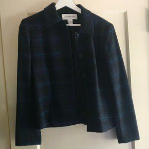 Jones New York wool/cashmere blazer